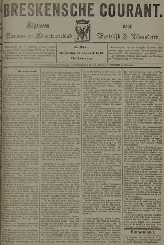 Breskensche Courant 1913-01-15