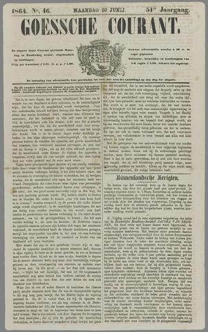 Goessche Courant 1864-06-20