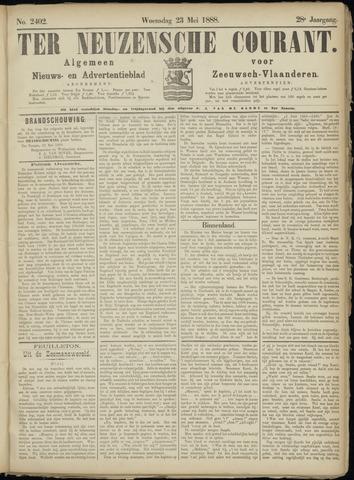 Ter Neuzensche Courant. Algemeen Nieuws- en Advertentieblad voor Zeeuwsch-Vlaanderen / Neuzensche Courant ... (idem) / (Algemeen) nieuws en advertentieblad voor Zeeuwsch-Vlaanderen 1888-05-23
