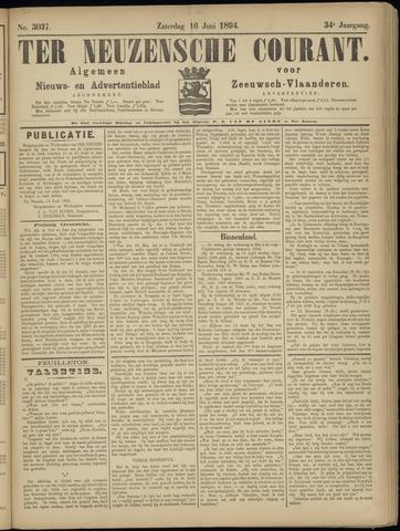 Ter Neuzensche Courant. Algemeen Nieuws- en Advertentieblad voor Zeeuwsch-Vlaanderen / Neuzensche Courant ... (idem) / (Algemeen) nieuws en advertentieblad voor Zeeuwsch-Vlaanderen 1894-06-16