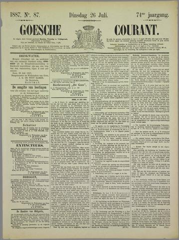 Goessche Courant 1887-07-26