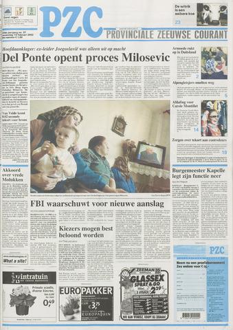 Provinciale Zeeuwse Courant 2002-02-13