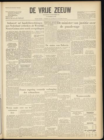 de Vrije Zeeuw 1957-11-13