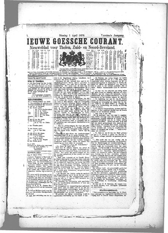 Nieuwe Goessche Courant 1879-04-01