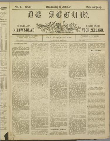 De Zeeuw. Christelijk-historisch nieuwsblad voor Zeeland 1905-10-05