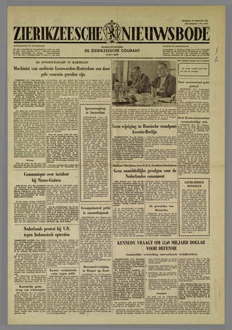Zierikzeesche Nieuwsbode 1962-01-19
