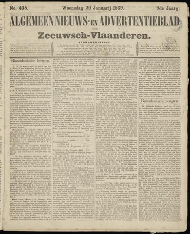 Ter Neuzensche Courant. Algemeen Nieuws- en Advertentieblad voor Zeeuwsch-Vlaanderen / Neuzensche Courant ... (idem) / (Algemeen) nieuws en advertentieblad voor Zeeuwsch-Vlaanderen 1869-01-20