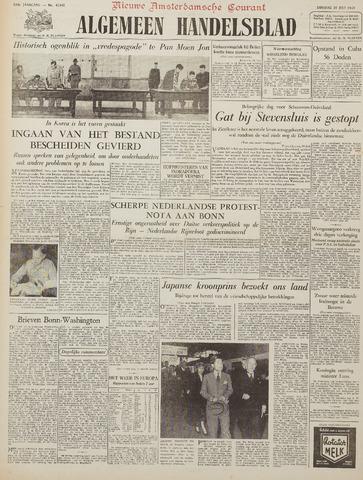Watersnood documentatie 1953 - kranten 1953-07-28