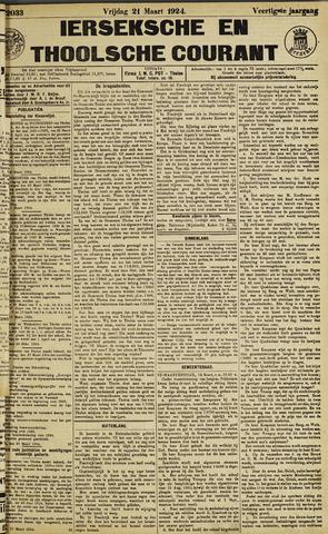 Ierseksche en Thoolsche Courant 1924-03-21