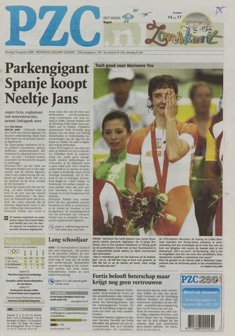 Provinciale Zeeuwse Courant 2008-08-19