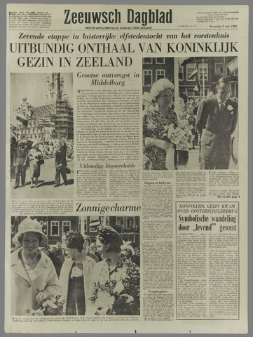 Zeeuwsch Dagblad 1962-05-09