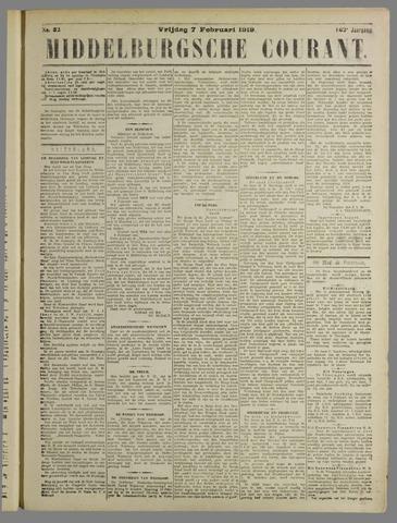 Middelburgsche Courant 1919-02-07