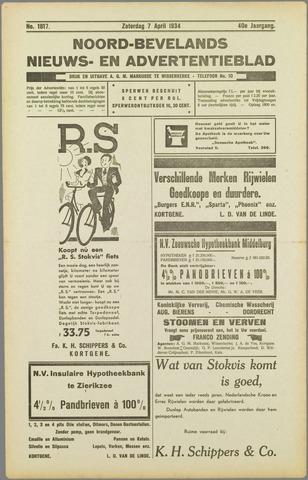 Noord-Bevelands Nieuws- en advertentieblad 1934-04-07