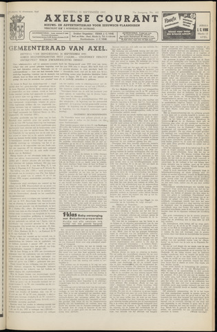 Axelsche Courant 1957-09-28