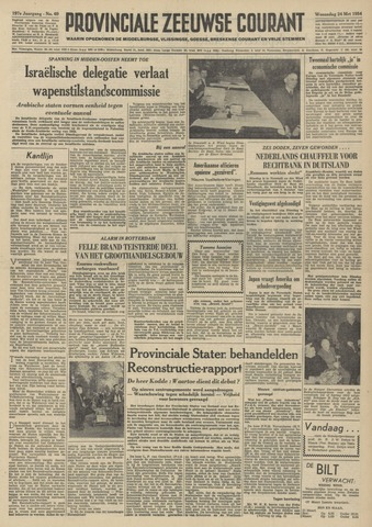 Provinciale Zeeuwse Courant 1954-03-24