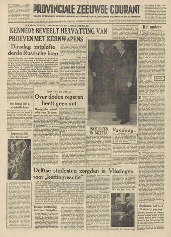 Provinciale Zeeuwse Courant 1961-09-06