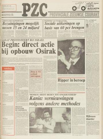 Provinciale Zeeuwse Courant 1981-06-10