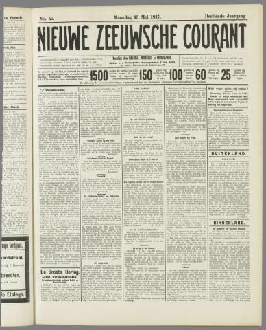 Nieuwe Zeeuwsche Courant 1917-05-15