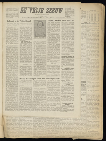 de Vrije Zeeuw 1949-01-31