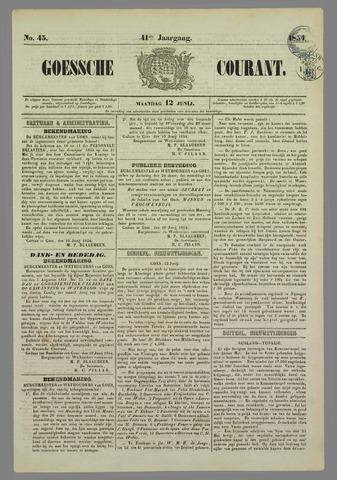 Goessche Courant 1854-06-12