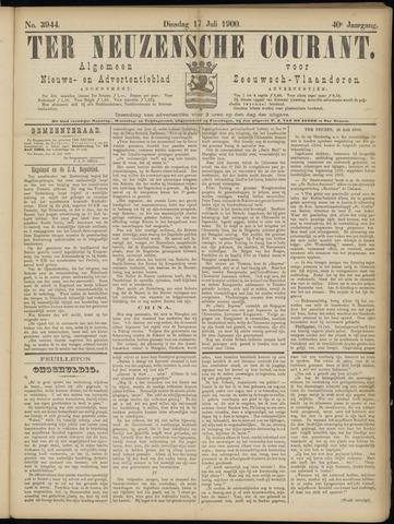 Ter Neuzensche Courant. Algemeen Nieuws- en Advertentieblad voor Zeeuwsch-Vlaanderen / Neuzensche Courant ... (idem) / (Algemeen) nieuws en advertentieblad voor Zeeuwsch-Vlaanderen 1900-07-17