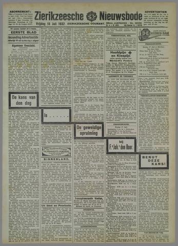 Zierikzeesche Nieuwsbode 1932-07-15
