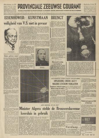 Provinciale Zeeuwse Courant 1957-10-10