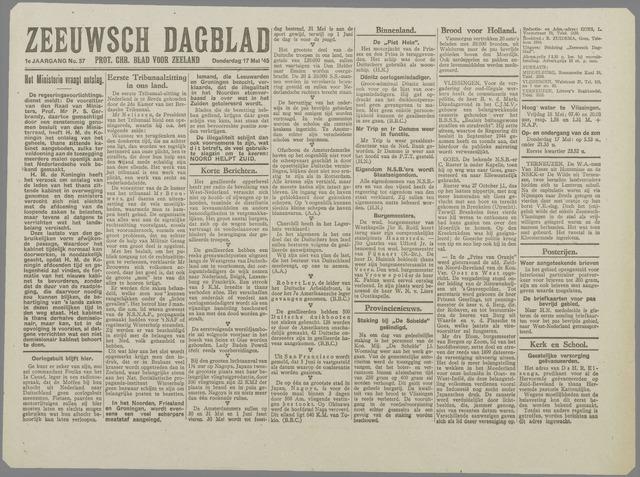 Zeeuwsch Dagblad 1945-05-17