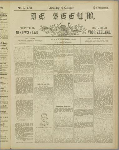 De Zeeuw. Christelijk-historisch nieuwsblad voor Zeeland 1901-10-19