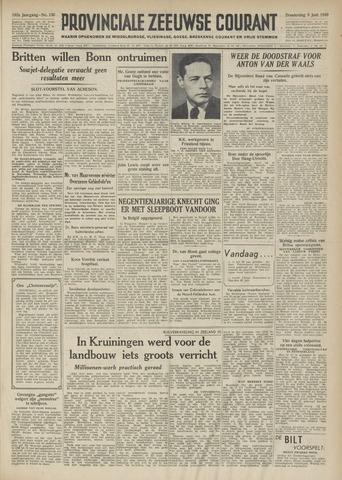 Provinciale Zeeuwse Courant 1949-06-09