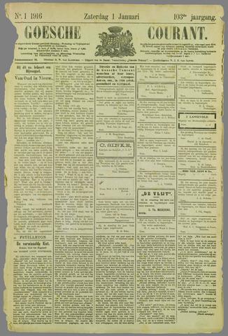 Goessche Courant 1916