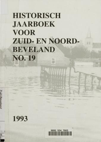 Historisch Jaarboek Zuid- en Noord-Beveland 1993-01-01