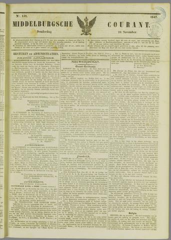 Middelburgsche Courant 1847-11-18