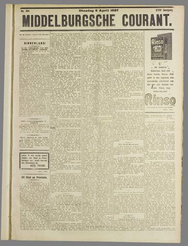 Middelburgsche Courant 1927-04-05