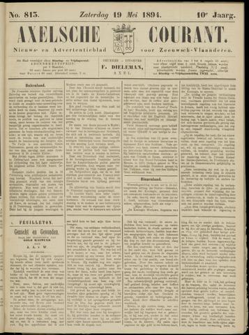 Axelsche Courant 1894-05-19