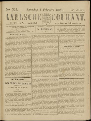 Axelsche Courant 1890-02-01