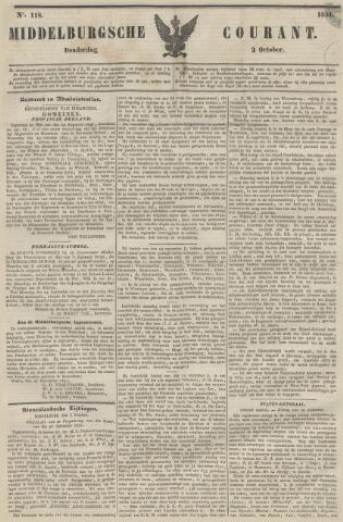 Middelburgsche Courant 1851-10-02