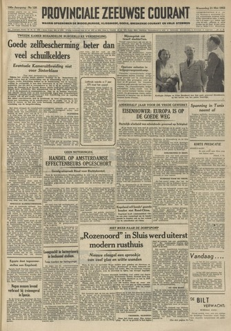Provinciale Zeeuwse Courant 1952-05-21