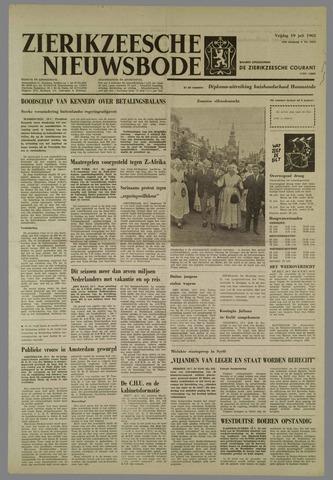 Zierikzeesche Nieuwsbode 1963-07-19