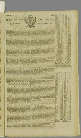 Middelburgsche Courant 1807-01-03