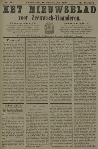 Nieuwsblad voor Zeeuwsch-Vlaanderen 1901-02-16