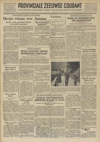 Provinciale Zeeuwse Courant 1951-08-20