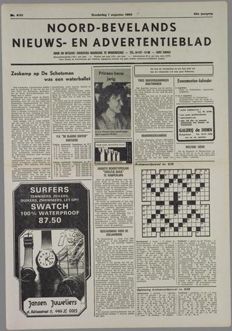 Noord-Bevelands Nieuws- en advertentieblad 1985-08-01