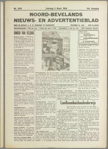 Noord-Bevelands Nieuws- en advertentieblad 1949-03-05
