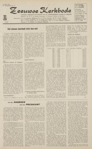 Zeeuwsche kerkbode, weekblad gewijd aan de belangen der gereformeerde kerken/ Zeeuwsch kerkblad 1962-06-22
