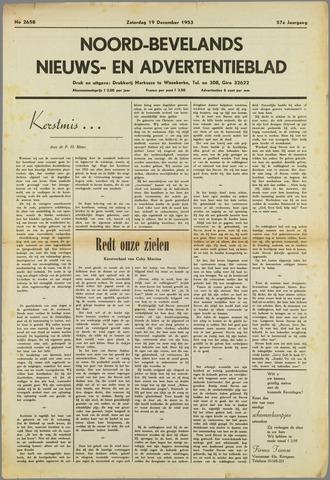 Noord-Bevelands Nieuws- en advertentieblad 1953-12-19