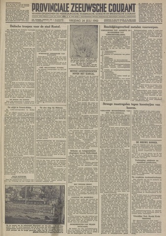 Provinciale Zeeuwse Courant 1942-07-24