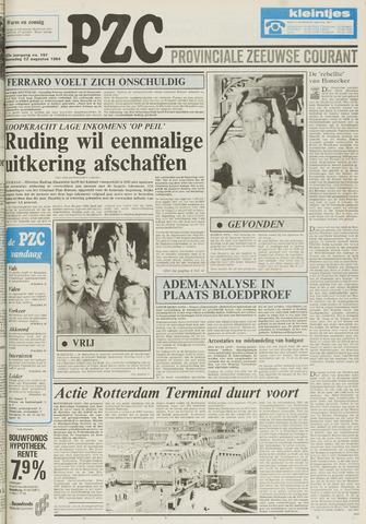 Provinciale Zeeuwse Courant 1984-08-22