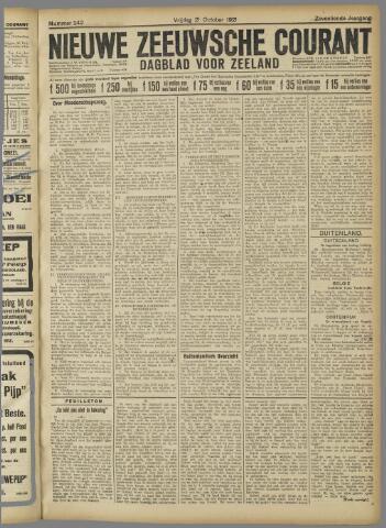 Nieuwe Zeeuwsche Courant 1921-10-21