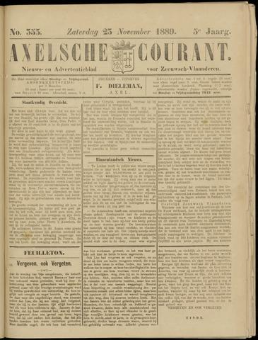 Axelsche Courant 1889-11-23